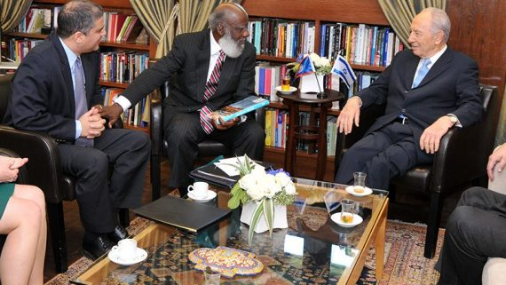 Belize Foreign Minister Wilfred Elrington in Israel
