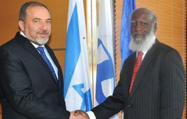 Belize Foreign Minister Wilfred Elrington on Official Visit to Israel